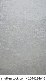 Frozen river background, ice surface