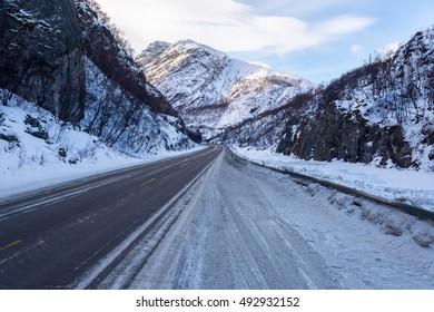 Frozen Road, Norway