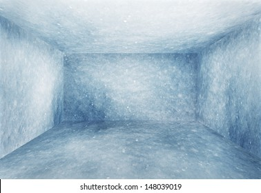 frozen room, christmas background