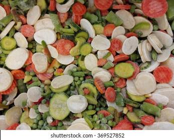 frozen Spanish dish from Bauer vegetable mixture