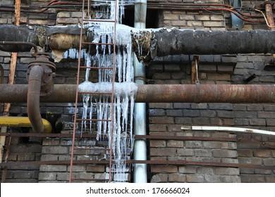 Frozen Water Pipe