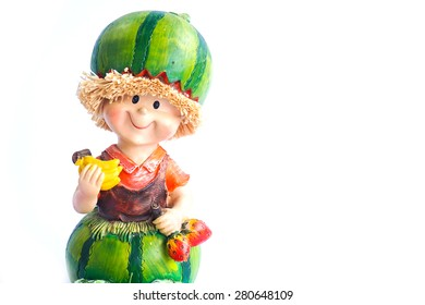 Fruit Baby Doll on a white background