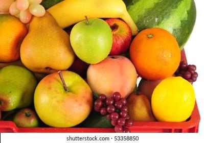Fruit basket.