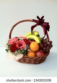 Fruit Basket Flower Basket