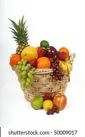 Fruit Basket Overflowing