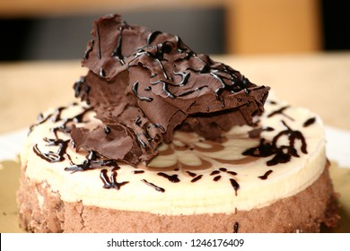 Fruit Cake on Plate