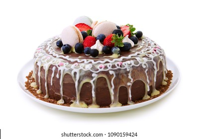 Beautiful Cake Isolated Images Stock Photos Vectors Shutterstock