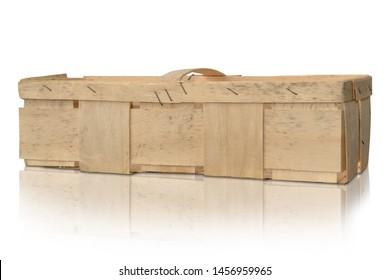 fruit crate box pumpkin cherries wood collect