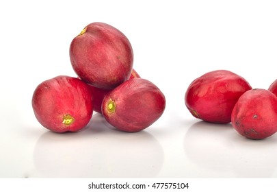 Fruit of Crown Of God With White Background