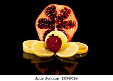 Fruit decoration model