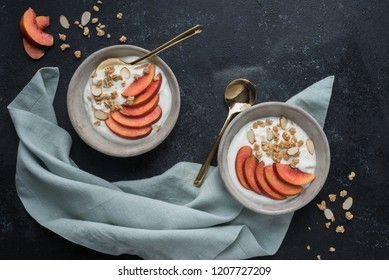 Fruit and Granola Yogurt