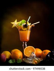 fruit juice  Multivitaminsaft