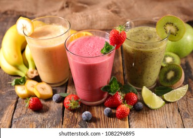 fruit juice, smoothie