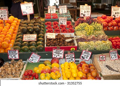 Fruit at the market