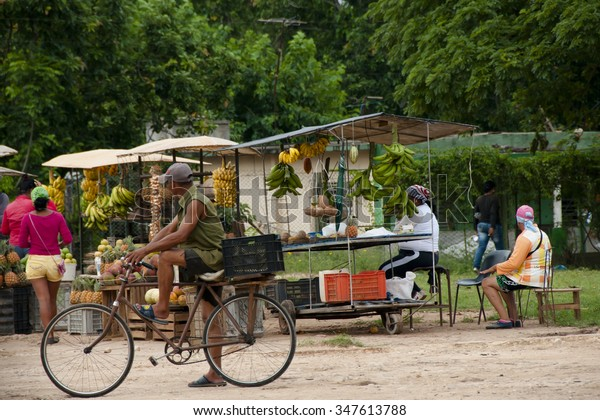Fruit Market - Cuba