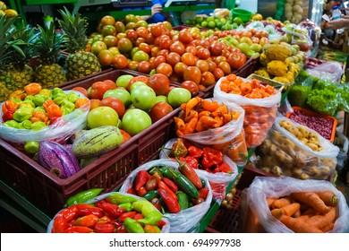 Fruit Market in Medellin Colombia