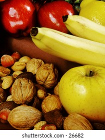 Fruit and nuts