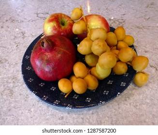 Fruit on the dish
