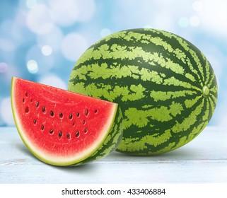 Fruit on white table