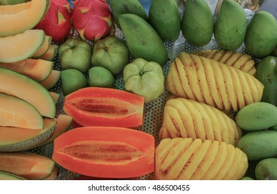 Fruit refers to the effects of propagation through the gender of some plants. The man can eat And most will not be savory. For example, fruits such as oranges, apples, bananas, mangoes.