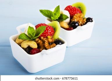 Fruit salad  - Shutterstock ID 678773611