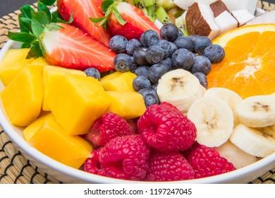 fruit salad bowl