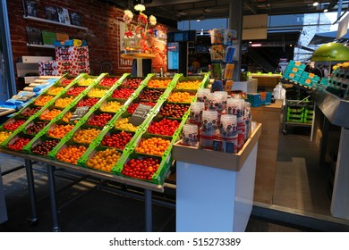 fruit store At the Markthal Rotterdam Netherlands November 2016