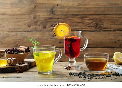 fruit tea and herbal infusion