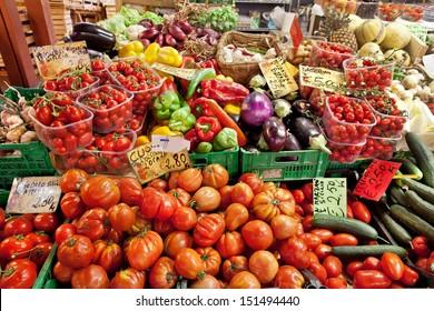 Vegetable Vendors Images, Stock Photos & Vectors   Shutterstock