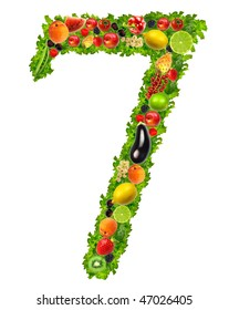 Fruit and vegetable No. 7