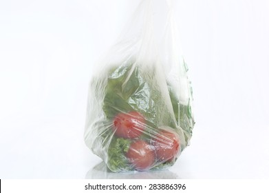 fruit and vegetables grocery bags