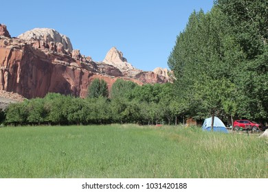 Fruita Campground in Capitol Reef National Park (Utah, USA)