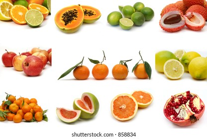 Fruits collection (see full-sized images in my gallery)