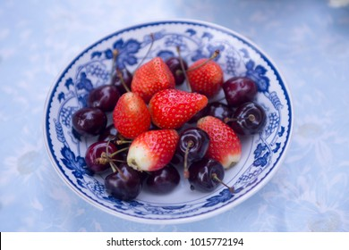 Fruits in Dish