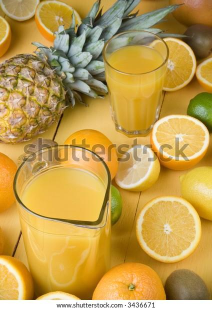Fruits drink