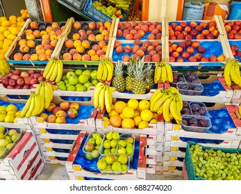 fruits green grocery greece fruits colors