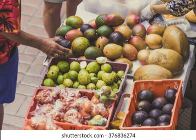 Fruits, grocery store, market