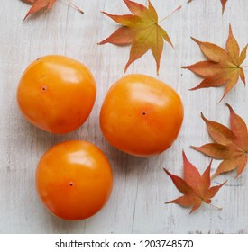 Fruits of Korea Ripe persimmon
