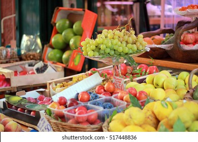 Fruits on italian market