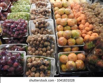 Fruits on a Thai market