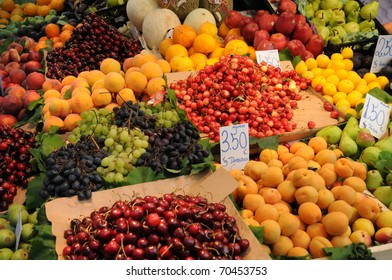fruits at Porto market