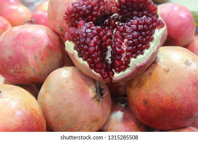 Fruits produce in the farmers market Israel Shuk