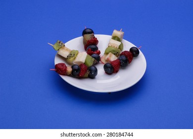 Fruit's skewers