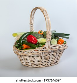 fruits and vegetable in mix on desk