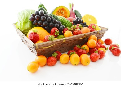 ?Fresh fruits and vegetables