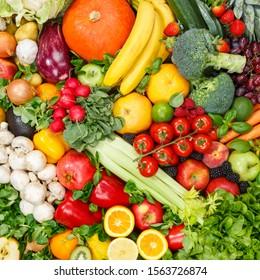 Obst- und Gemüsesortung - LebensmittelSammlung