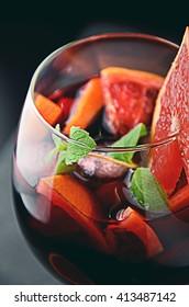 Fruity Spanish Sangria with Citrus