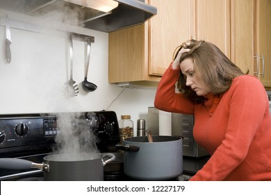 Frustration in the kitchen