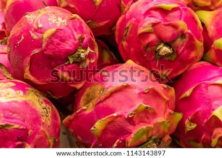 Fruta Tropical Pitaia Stock Photo Edit Now 1143143897 Shutterstock
