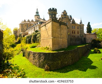 Frydlant castle in northern Bohemia